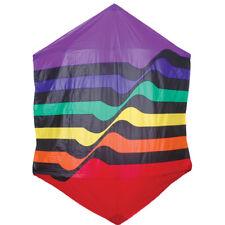 "Rainbow Ripple 78"" Rokkaku Designer Special Kite..68...... PR 45515"