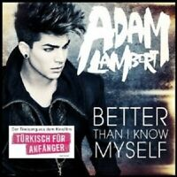 ADAM LAMBERT - BETTER THAN I KNOW MYSELF  CD 2 TRACK SINGLE NEW!