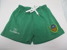 Short Rugby Club VALENCIA vintage Rugbier vert collection 12 14 ans