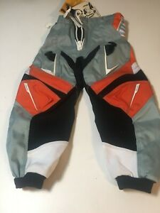 THOR KIDS MOTOCROSS ATV BMX PANTS size 18 SPECIAL * FREE SHIPPING * KTM ORANGE