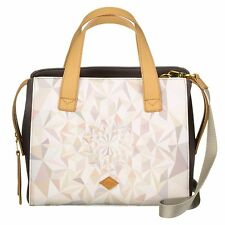 NEU Oilily Tasche Kinetic Summer Handbag Oyster White Schulter/Umhängetasche OVP