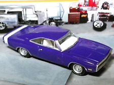 PLUM CRAZY 1970 70 DODGE CHARGER R/T 426 HEMI V-8 1/64 SCALE LIMITED EDT. HTF B3