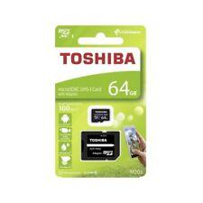Carte MicroSD TOSHIBA 16/32/64/128/256 Go MICRO SDHC CLASS 10 100 MO/S