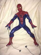 "Spiderman Web Shooter Hasbro motorisé Web-shooting Spider-Man Figure 13"" Haute"