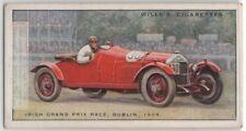 Irish Grand Prix Race Phoenix Park Dublin 1929 85+ Y/O Trade Ad Card