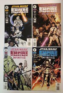 Star Wars The Empire Strikes Back: Infinities  #1-4 Complete Set Dark Horse VF+