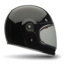967161b3e2553 BELL BULLITT RETRO MOTORCYCLE HELMET - BLACK GLOSS