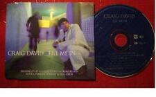 CRAIG DAVID 6 TRACK CD PLUS 1 VIDEO FILL ME IN