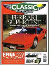 Classic & Sports Car Magazine February 1998 MBox1095 Ferrari Supertest - Delage