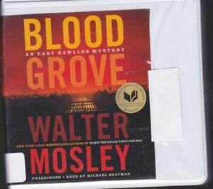 BLOOD GROVE by WALTER MOSLEY ~ UNABRIDGED CD AUDIOBOOK