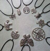 lot bijoux20 colliers 10 modéles arbre de vie papillon tortue/palette revendeur