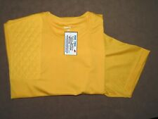 2Xl Rh Trap Pad Gold Textured Posi-Charg Moisture Wicking Shooting Tee/ SportTek