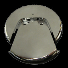 UNIVERSAL OVERSIZED WASTE & OVERFLOW PLATE - CHROME