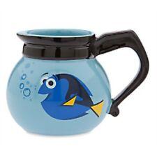 NEW DISNEY STORE FINDING DORY IN COFFEE POT MUG PIXAR NEMO CUP CERAMIC CUP