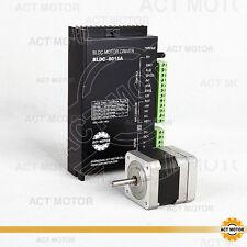 1Axis Nema17 BLDC Motor 42BLF01 26W 4000RPM 24VDC+Treiber BLDC-8015A-4