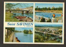 SAINT-SAVINIEN (17) PISCINE , PONT METALLIQUE & VILLAS