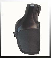 FUNDA PISTOLA CORDURA Y CUERO Beretta 92FS/H&K UPS/ Walter P99/Glock 17 DINGO