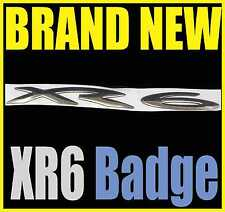 1 - ONE XR6 FLEXIBLE STICKER BADGE WITH DOUBLE SIDED TAPE