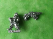 SQUAT ,ROGUE TRADER METAL HEAVY WEAPON GUNNER WITH HEAVY BOLTER 26H