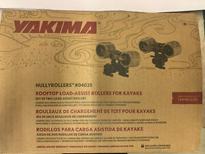 New Yakima Hullyrollers Rooftop Load Assist For Kayaks W/ Strap & Tie Down 04035