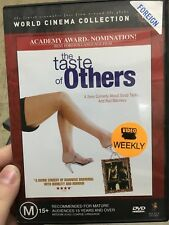 The Taste Of Others ex-rental region 4 DVD (2000 French comedy movie)