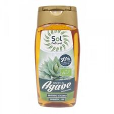 Syrup Agave Bio S/G Bottle Solnatural 350 G