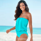New Womens Plus Size Bikini Beach Monokini Bandage Swimwear Tankini Swimsuit