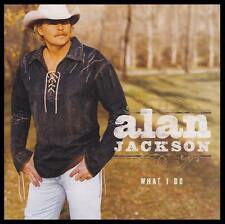 ALAN JACKSON - WHAT I DO ~ 12 Track COUNTRY CD Album ~ 00's *NEW*