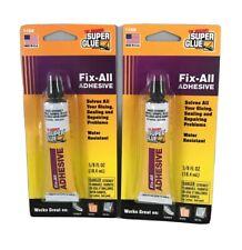 New listing Fix-All The Original Super Glue 2-Pack