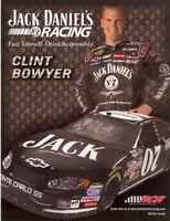 2006 Clint Bowyer Jack Daniels Chevy Monte Carlo NASCAR postcard