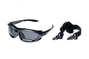 Alpland Sportbrille Skibrille GletscherbrilleBergbrille Sonnenbrille polarisiert