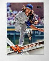 2017 Topps #155A Jacob deGrom - NM-MT