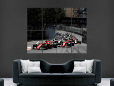 F1 FORMULA ONE MONACO GRAND PRIX POSTER WALL ART HUGE LARGE  PICTURE