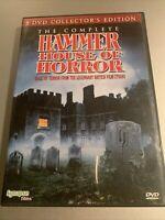 The Complete Hammer House of Horror DVD 2012 5-Disc Set Legendary British Studio