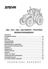 STEYR KOMPAKT 4065 4075 4085 4095 TRAKTOR SERVICE REPARATUR WERKSTATTHANDBUCH