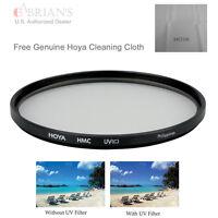 Genuine Hoya 49mm HMC UV(C) Filter Free Hoya Cleaning Cloth US Authorized Dealer
