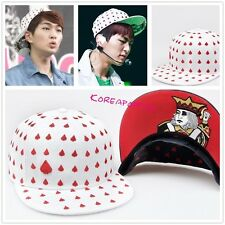 Shinee white SNAPBACK HAT CAP KPOP NEW
