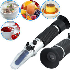0 32 Brix Refractometer Wort Specific Gravity ATC for Furit Beer Suga Test Tool