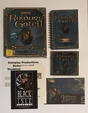 Baldur's Gate II Shadows of Amn (2000) Big Box PC COMPLETE W/ Player's Guide CIB