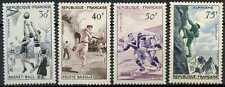 France 1956 SG#1297-1300 Sports MH Set Cat £32 #E5914