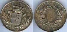 Médaille de table - EPERNAY société horticulture Mr DAUVISSAT argent/silver 59gr