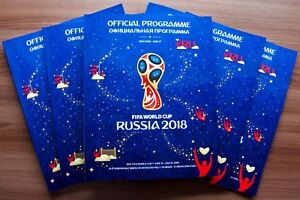 FIFA World Cup Russia 2018 Official Licensed Tournament Programme Unread Mint WC