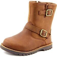 Chaussures marron moyen en cuir pour garçon de 2 à 16 ans