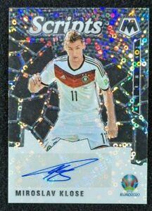 2021 Panini Mosaic UEFA Euros Miroslav Klose Scripts Auto Germany