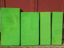 POLSTER WOHNWAGEN SITZECKE SITZPOLSTER 70er Jahre CORD grün Detmold TOP Zustand!