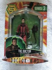 Official BBC Dr Who Series 3 The Doctor David Tennant Figure Pentallian Suit New