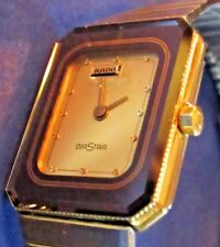 RADO DIASTAR-#13510153. RECENT CLEANING, BATTERY REPLACED. SWEET TIME PIECE!!!