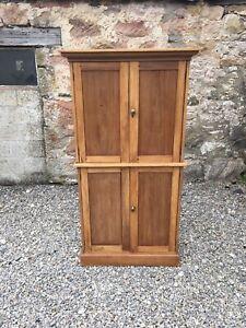 Victorian Pine Kitchen Cupboard