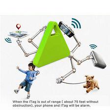 bluetooth finder wireless tracker key bag pet Smart alarm for Iphone (Green)