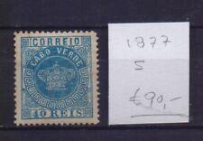 ! Cape Verde 1877.  Stamp. YT#5 . €90.00 !